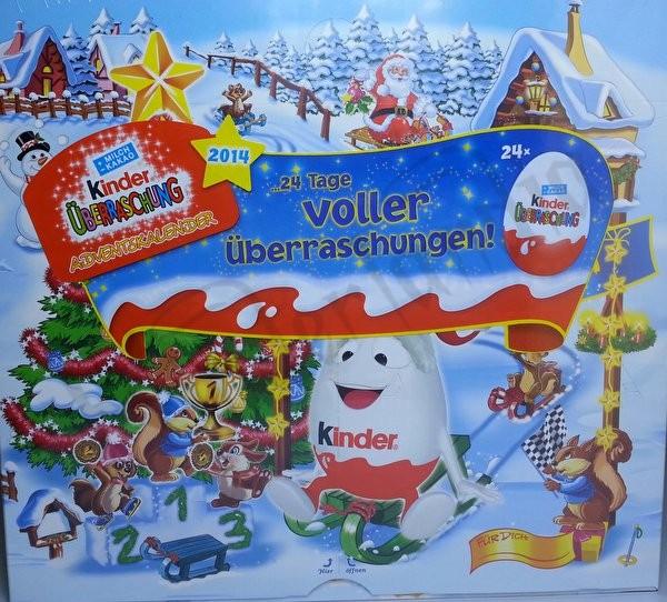 Calendario Avvento Kinder.Calendario Dell Avvento 2014 Kinder Natale Speciali 2014