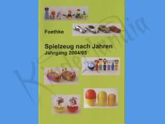 Aggiornamento catalogo giochi 2004/05