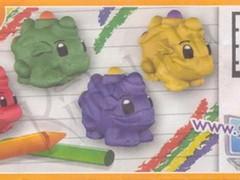 Dinosauri Pastello